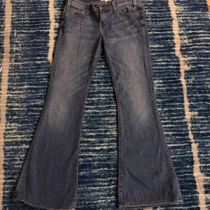 CURRENT/ELLIOTT Jeans The Bell Carnival Size 25